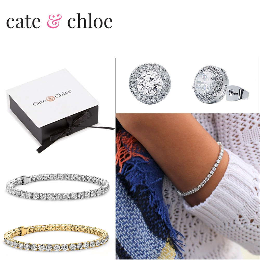 Cate & Chloe AAA Grade CZ Jewelry Collection  Header Image